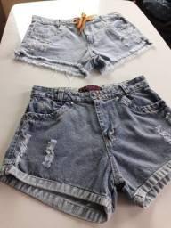 Shorts jeans na PROMOÇÃO