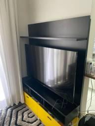 Painel de tv com com 2 caixas Tok Stok