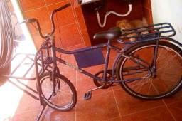Bicicleta cargueira azul