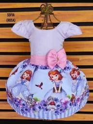 R$ 50,00 Vende-se vestido novo da Princesa Sofia