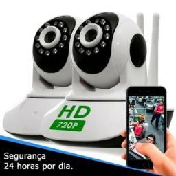Câmera IP WiFi - Proteja sua casa ou Empresa de onde você estiver