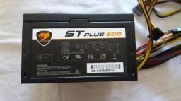 R9 380x 4Gb Fonte St500plus 500w Pfc Ativo