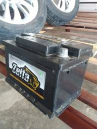 Bateria zetta semi nova 60 amperes