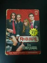 Dvd rebelde primeira temporada