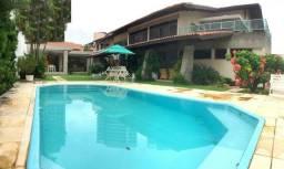Título do anúncio: Casa duplex no Guararapes, mansão, 4 suítes, 6 vagas, piscina, projetada, próximo shopping