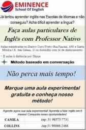 Aula de Inglês Particular com Prof Nativo