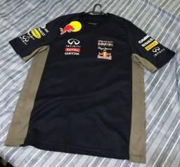 Camiseta Red Bull Racing Formula One Team Azul Escuro Tamanho G 7a08fd5a391
