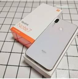 Smartphone xiaomi note 7 128gb branco no cartao em ate 12x sem juros