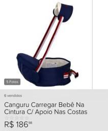 Canguru Carregar Bebê Cintura Com Bolso-alívio Do Peso