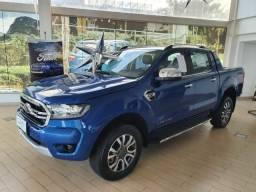 Imperdível. Nova Ford Ranger Limited 2021, oportunidade única, confira: