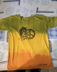Camiseta Reggae ?P? Bob Marley