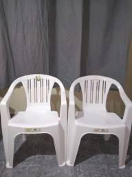 Cadeiras plástica branca