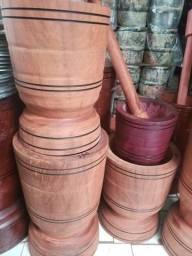 Título do anúncio: Pilão de madeira morapiranga
