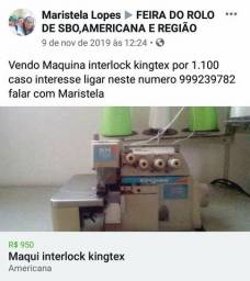 Máquina King tex interlook