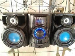 Caixa de som Mini System Mondial