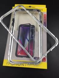 Capinha Magnetica Vidro só atrás, IPhone XR-6.1