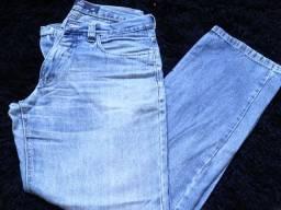 Calça Jeans Masculina Seminova Azul