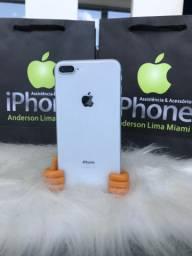 Iphone 7plus branco 32gb seminovo