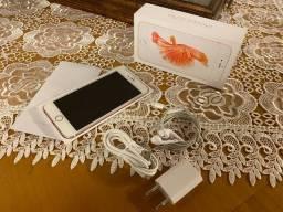 Iphone 6s Plus 64gb Rose com Caixa!