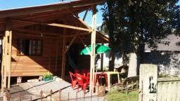 Casa de madeira para retirar do lugar