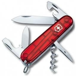 Canivete Victorinox Spartan 1.3603.T com 12 Funções Vermelho transp