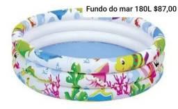 Piscina inflável pronta entrega em São Vicente