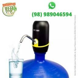 Bomba Galão para Garrafão de Água Plástico Elétrica BOM-EB10 Preto Exbom