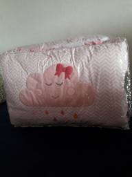 Kit berço  e bolsa maternidade  nuvem