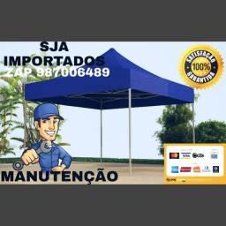 MANUTENÇÃO EM TENDAS C/ BARRA ALUMÍNIO ACEITO CARTÃO