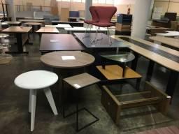 Mobília nova e usada para escritório