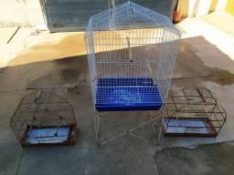 Vendo Gaiolas e Viveiro par aves