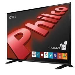 Smart TV Led 43, Full HD Philco, Wifi, Hdmi, usb, Conversor Digital