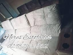 Sofa Retrátil Reclinável 3 metros