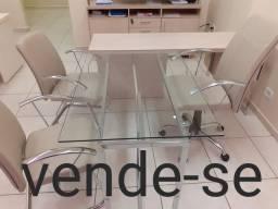 Jogo de mesa com cadeira para escritório