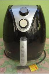 Fritadeira elétrica Air Fryer, da Mondial, preta. Novíssima!