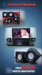 Caixa de som para computador e notebook