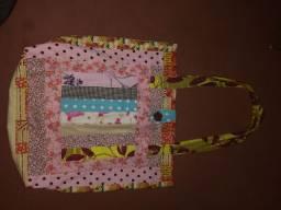 Vendo bolsas de tecido nova  valor 25 Reais