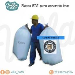 Saco Flocos EPS - Para construção civil
