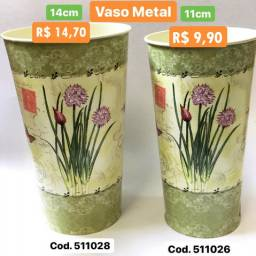 Vaso Decorativo Metal