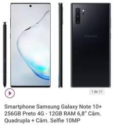 Galaxy note 10+   (12 de ram + 256 memoria)