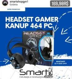 Headset Gamer Para PC 464