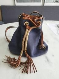 Bolsa MK Original - Azul marinho (usada)