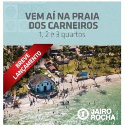 JC10- Lançamento Praia de Carneiros 1, 2 ou 3 quartos