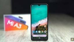 Smartphone Xiaomi Mi A3 128Gb 4Gb Ram Tela 6.08 Câmeras-Novos GLOBAL