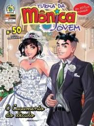 Livro Turma da Mônica Jovem (Casamento)