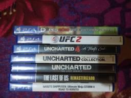 Vendo esses jogos de PS4