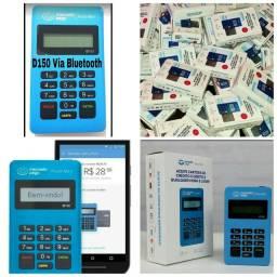 Maquina maquininha leitor cartao mercado pago point mini
