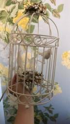 Lindo abajur de gaiola