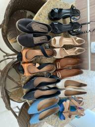 Lote de Sapatos número 36