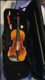 Violino Eagle Vk 544 + case, spaleira, arco, breu